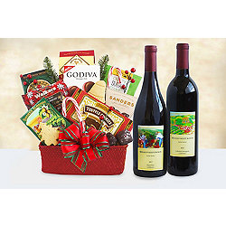 Seasons Sippings Merrymaker Holiday Gift Basket