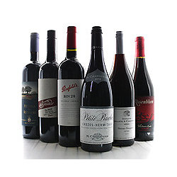 Que Syrah Shiraz 6-Bottle Sampler