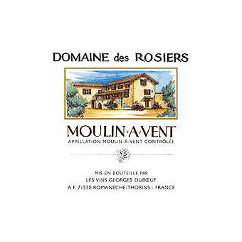 Moulin A Vent 2015 Domaine Des Rosiers, Georges Duboeuf