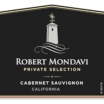 Robert Mondavi 2017 Cabernet Sauvignon, Private Selection, California