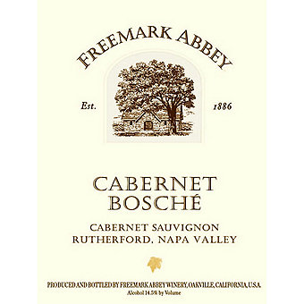 Freemark Abbey 2014 Bosche, Cab Sauv, Napa Valley