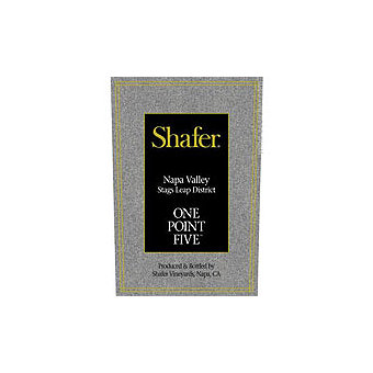 Shafer 2014 One Point Five, Cabernet Sauvignon, Stags Leap District, Napa Valley