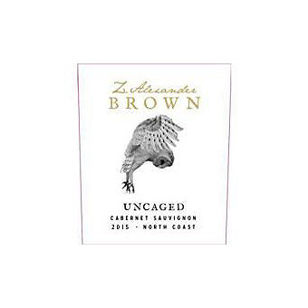 Z. Alexander Brown 2015 Uncaged, Cabernet Sauvignon, North Coast