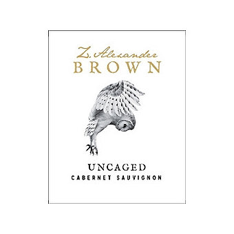 Z. Alexander Brown 2016 Uncaged, Cabernet Sauvignon, California