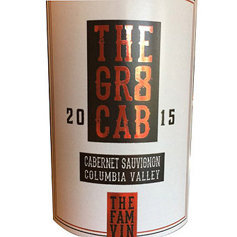 The Gr8 2015 Cabernet Sauvignon, Columbia Valley