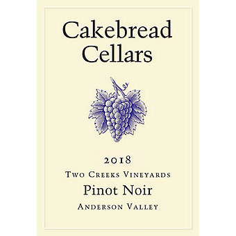 Cakebread 2018 Pinot Noir, Two Creeks Vyds., Anderson Valley