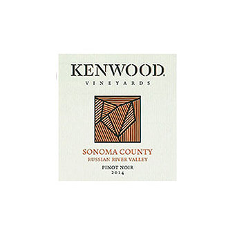 Kenwood 2014 Pinot Noir, Russian River Valley