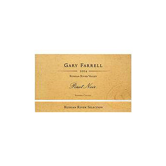 Gary Farrell 2014 Pinot Noir, Russian River Valley