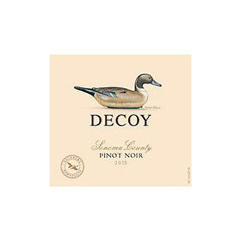 Decoy by Duckhorn 2015 Pinot Noir, Sonoma County