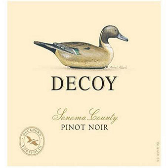 Decoy by Duckhorn 2017 Pinot Noir, Sonoma County