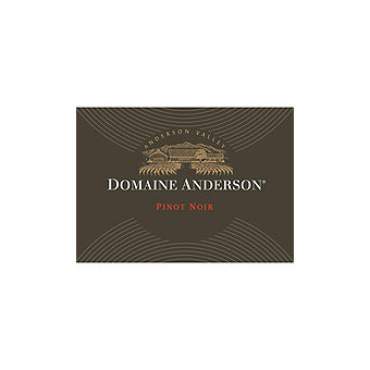 Domaine Anderson 2012 Pinot Noir, Anderson Valley