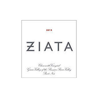 Ziata 2013 Pinot Noir, Chenoweth Vyd., Russian River Valley