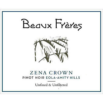 Beaux Freres 2015 Pinot Noir, Zena Crown Vyd., Willamette Valley
