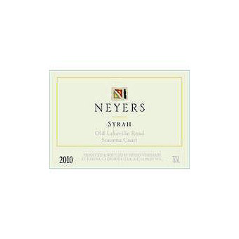 Neyers 2010 Syrah, Old Lakeville Road, Sonoma Coast