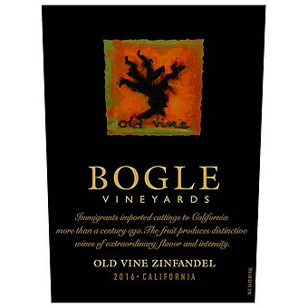 Bogle 2016 Old Vine Zinfandel, California