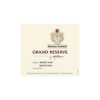 Kendall-Jackson 2012 Grand Reserve Meritage Red, Sonoma