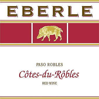 Eberle 2014 Cotes Du Robles Red, Paso Robles