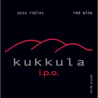 Kukkula 2009 Red Blend, IPO, Paso Robles