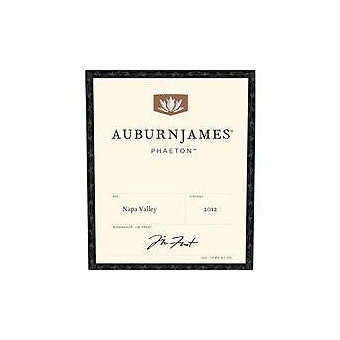 AuburnJames 2012 Phaeton Red Blend, Napa Valley