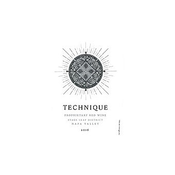 Technique 2016 Proprietary Red, Stags Leap Dist., Napa Valley