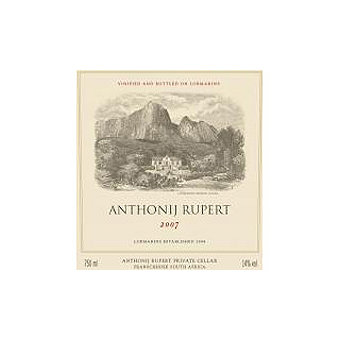 Anthonij Rupert 2007 Red Blend, Lomarins, South Africa