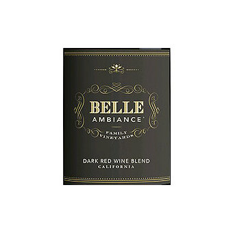 Belle Ambiance 2014 Dark Red Blend, California