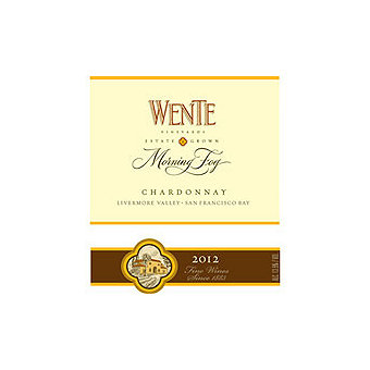 Wente 2016 Chardonnay, Morning Fog, Livermore