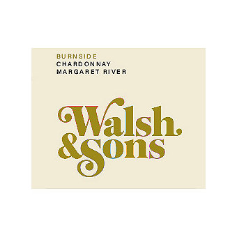 Walsh & Sons 2016 Chardonnay, Burnside, Margaret River