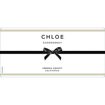 Chloe Wine Collection 2017 Chardonnay, Sonoma County
