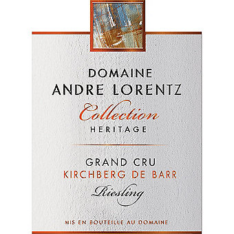 Andre Lorentz 2016 Riesling Grand Cru Kirchberg de Barr, Heritage Collection