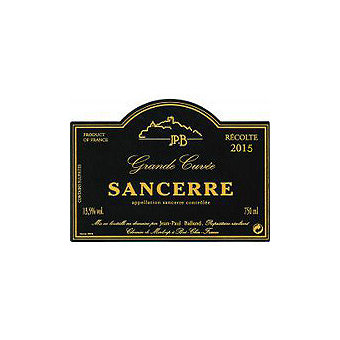 Sancerre 2015 Grand Cuvee, Jean-Paul Balland