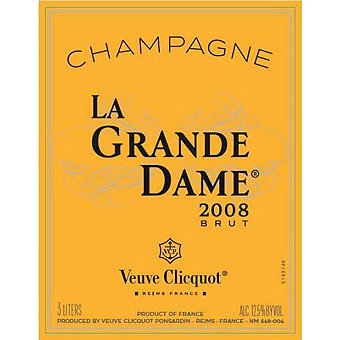 Veuve Clicquot 2008 Grand Dame Champagne with Carousel Gift Box