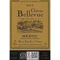 Chateau Bellevue 2015 Medoc, Cru Bourgeois