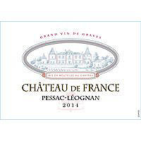 Chateau de France 2014 Pessac Leognan, Bordeaux Red