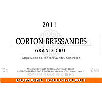 Corton Grand Cru 2011 Tollot-Beaut