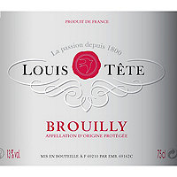 Louis Tete 2016 Brouilly