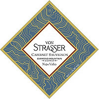 Von Strasser 2015 Cabernet Sauvignon, Diamond Mountain, Napa Valley