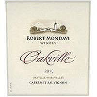 Robert Mondavi 2013 Cabernet Oakville District Napa