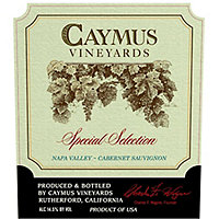 Caymus Special Selection 2015 Cabernet Sauvignon, Napa Valley