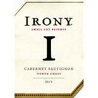 Irony 2015 Cabernet Sauvignon, Small Lot Reserve, North Coast