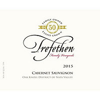 Trefethen 2015 Cabernet Sauvignon Estate, Oak Knoll District, Napa Valley