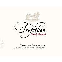 Trefethen 2017 Cabernet Sauvignon Estate, Oak Knoll District, Napa Valley