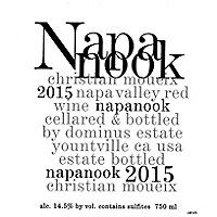 Napanook 2015 Cabernet Sauvignon, Dominus Estate, Napa Valley