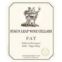 Stag's Leap Wine Cellars 2013 Cabernet Sauvignon, Fay Vyd., Napa Valley