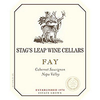 Stag's Leap Wine Cellars 2015 Cabernet Sauvignon, Fay Vyd., Napa Valley