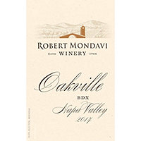 Robert Mondavi 2014 BDX Red, Oakville District, Napa Valley