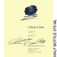 Opus One 2015 Napa Valley, Half Bottle, 375 ml