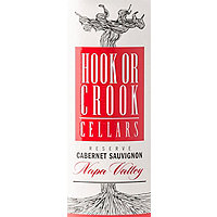 Hook or Crook Cellars 2017 Cabernet Sauvignon Reserve, Napa Valley