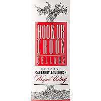 Hook or Crook Cellars 2018 Cabernet Sauvignon Reserve, Napa Valley