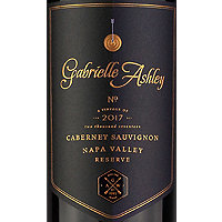 Gabrielle Ashley 2017 Cabernet Sauvignon Reserve, Napa Valley